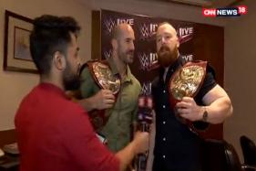 Sheamus and Cesaro Challenge John Abraham For a Fight