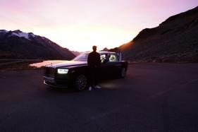 Award Winning Musician Skepta Records New Track Inside Rolls-Royce Phantom