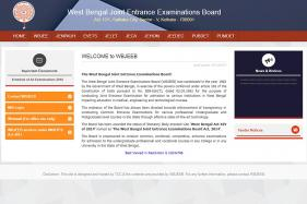 WBJEEB Entrance Examinations 2018 Tentative Schedule Released, Check Now at wbjeeb.in