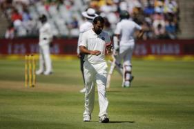 Shami Picks Up His 100th Test Wicket in Centurion