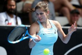Julia Goerges Humbles Caroline Wozniacki to Seal Auckland Title