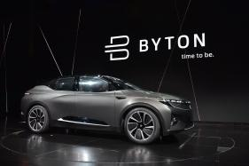 Byton Unveils 'Car of The Future' At CES 2018 for $45,000