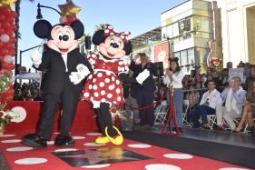 Minnie Finally Gets Her Own Star, Decades After Mickey