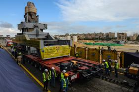 Egyptian Pharaoh Ramses II is Moved To New Home