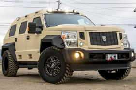USSV Rhino GX Executive is a Tank with Private Jet Inspired Cabin
