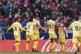 Giant Killers Girona Derail Atletico Madrid's Faint Title Race Hopes, Sevilla Win