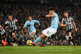 Sergio Aguero Treble Gets Man City Back on Track as Man United Wait For Alexis Sanchez