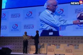Former ISRO Chairman AS Kiran Kumar Wins 'Special Achievement Award' at Geospatial World Forum 2018