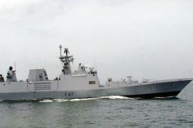 Fire on Board Warship INS Shivalik