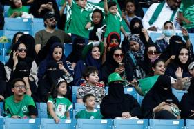 Saudi Women Attend Football Game for the First Time
