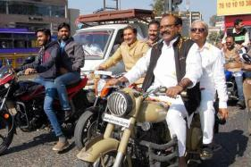 Bhopal MP Rides Motorcycle Without a Helmet, Pays Rs 250 Fine
