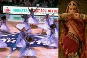 While School Kids Were Threatened In India Over 'Padmaavat', NBA Cheerleaders Danced To 'Ghoomar'