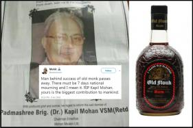 Internet Mourns The Death Of 'Old Monk' Creator Kapil Mohan