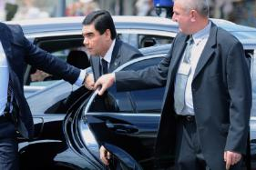 Turkmenistan President Bans All Colored Cars from Capital, Only White Cars Allowed
