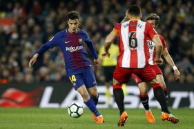 Philippe Coutinho Scores First La Liga Goal As He Learns Barca Style