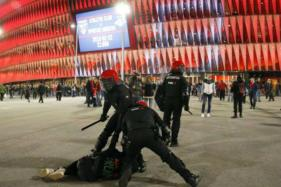 Police Officer Dies as Violence Mars Athletic Bilbao v Spartak Clash