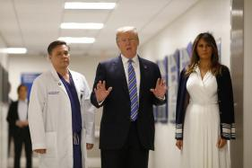 Melania Trump Shuns Cameras as Second Woman Alleges Trump Affair