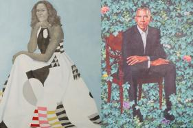 Barack and Michelle Obama Unveil Their Official Portraits