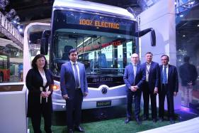 Auto Expo 2018: JBM Solaris Launches Its 100% Electric Bus Series ECO-LIFE
