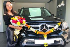 Famous Bollywood Playback Singer Neha Kakkar Gifts Herself a Mercedes-Benz GLS 350d