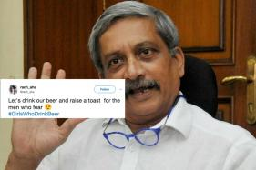 Sorry Mr Parrikar, #GirlsWhoDrinkBeer are Taking Over Twitter