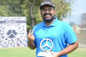 Abhay Meganathan Wins Chennai Leg in Mercedes Trophy Golf