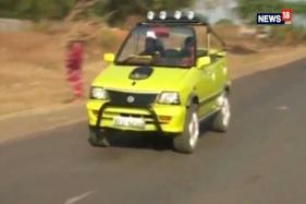 A Car That Runs On Water-derived Fuel Made in Sagar, Madhya Pradesh