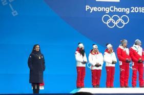 Nita Ambani Presents Alpine Skiing Awards at Winter Olympics