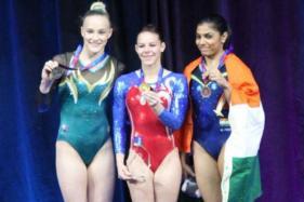 Aruna Reddy Creates History at Gymnastics World Cup; Wins Bronze in Women's Vault