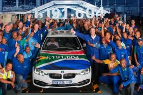 After 35 Year, Last BMW 3 Series Sedan Rolls Out of BMW Group Plant Rosslyn in Pretoria