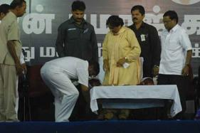 Stop Touching My Feet, BSP Chief Mayawati Tells Party Workers