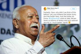 'RSS Can Prepare An Army Within 3 Days', Mohan Bhagwat's Statement Sends Twitter Into a Frenzy
