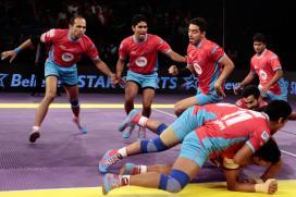 Pro Kabaddi 2017 Live Score: Bengaluru Bulls vs Jaipur Pink Panthers