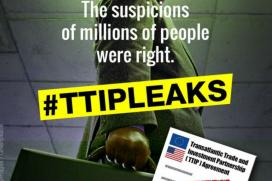 Greenpeace to Release Secret Documents on EU-US Trade Deal