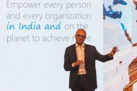 Microsoft CEO Satya Nadella Live:  Watch Future Decoded Event Keynote
