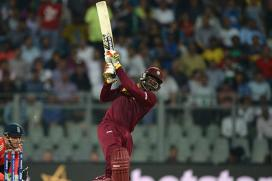 England vs West Indies Live Cricket Score, 3rd ODI in Bristol: Chris Gayle on Song