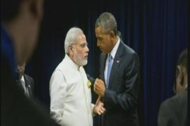 Modi Only World Leader Sharing Frame with Obama in Film on his Tenure