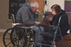 Elderly Canada Couple Reunited After Separation Photo Went Viral