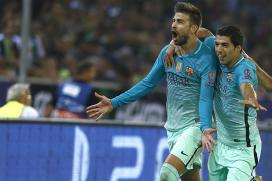 Messi-less Barcelona Fight Back to Down Gladbach 2-1 in Champions League