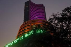 Sensex Gets a Buying Lift, Edges up 75 Points