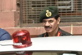 Army Chief Visits Northern Command After Cross-LoC Strike
