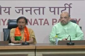 Congress Leader Rita Bahuguna Joshi Joins BJP, Attacks Rahul Gandhi