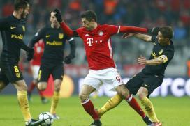 Champions League: Lewandowski's Bayern Goal Ends Perfect Atletico Record