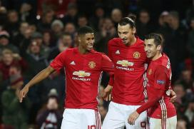 Europa League: Henrikh Mkhitaryan Breaks Duck as Manchester United Go Through