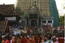 Fire at Kerala's Padmanabhaswamy Temple, Two injured