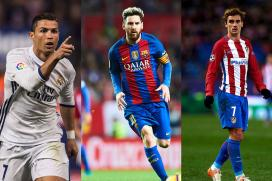 FIFA Player of The Year: Ronaldo, Messi and Griezmann To Battle It Out