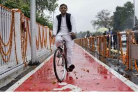 UP Polls 2017 Live: For Once I thought 'Cycle' May Slip out of my Hands, Says Akhilesh