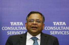 Chandrasekaran to Take Over Tata Group Reins on Tuesday