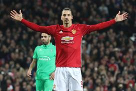 Zlatan Ibrahimovic Powers Manchester United to League Cup Glory