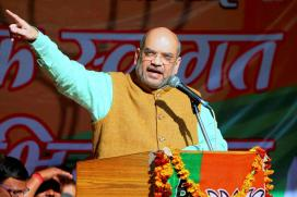 Unfurl the Victory Flag in Delhi Too, Amit Shah to BJP Workers